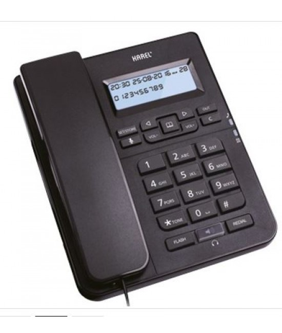 Karel TM145 Ekranlı Telefon Makinası