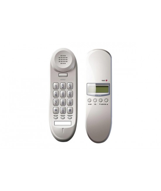 KAREL TM910 Ekranlı  Duvar Tipi Telefon